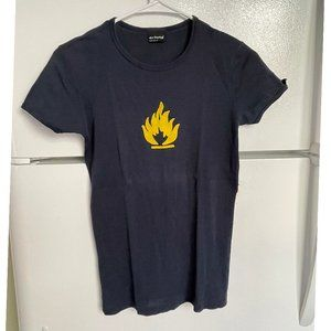 """""""Flammable"""" T-shirt by Erfolg, M, cotton"""